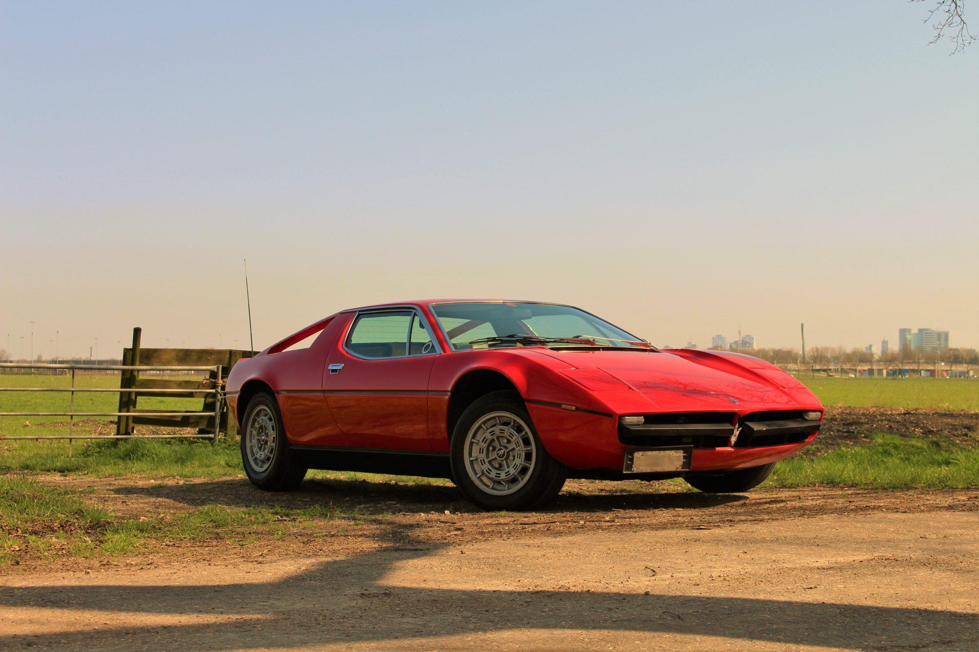 Maserati Merak 3.0 1974 - Classic Sports Cars Holland